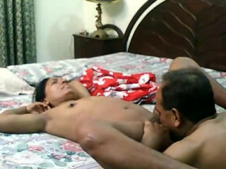 Mature Indian Pair Homemade Oral Fucking