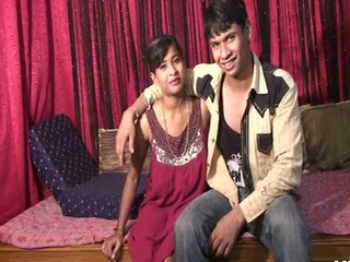 First sex on webcamera for Horny indian couple